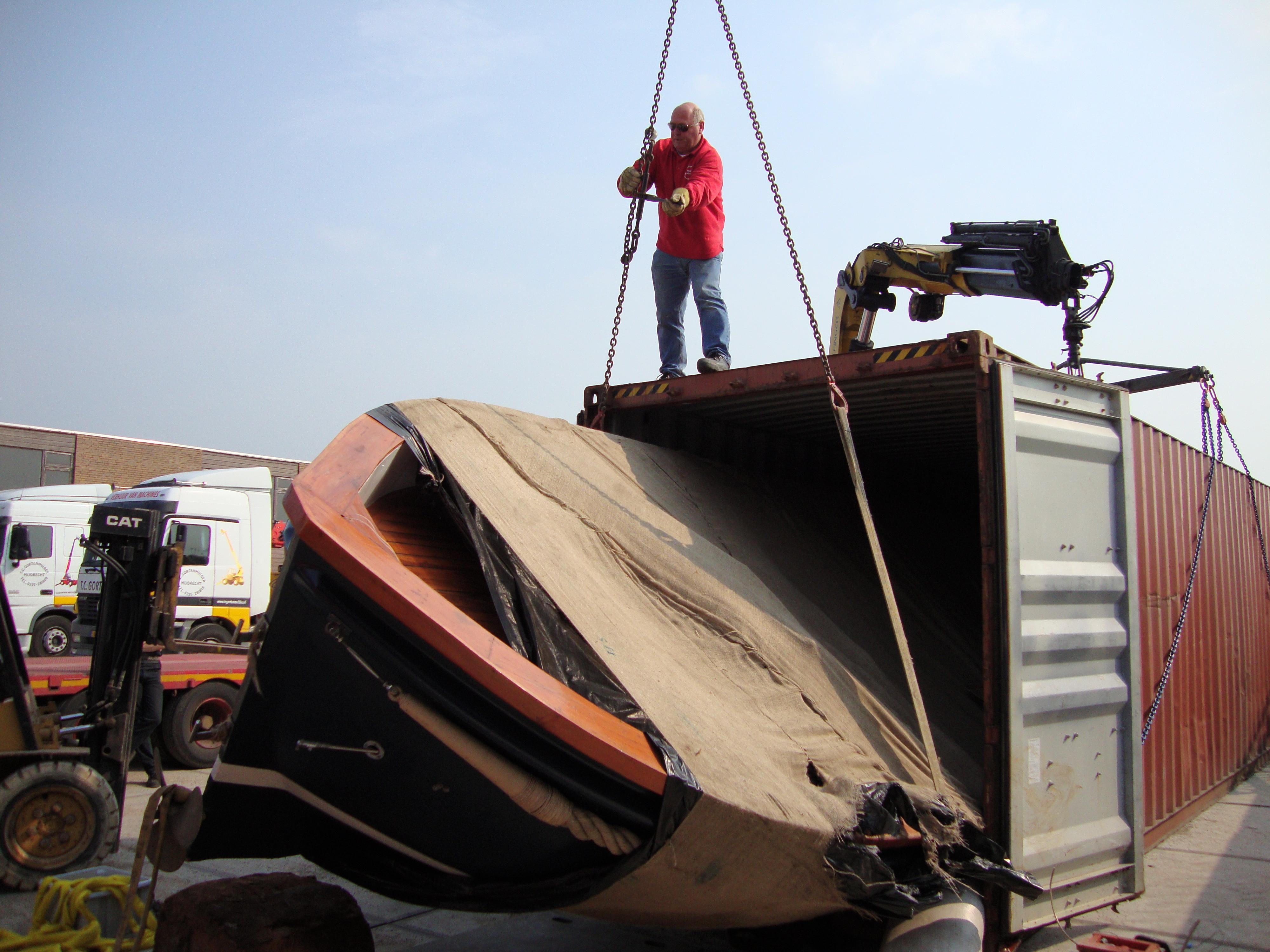 zeevracht naar Suriname