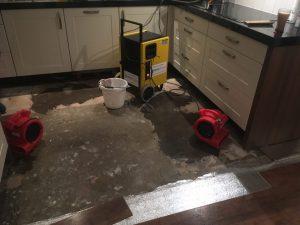Schade aan vloer